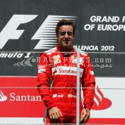 Formula1 European Grand Prix 2012 - Sunday